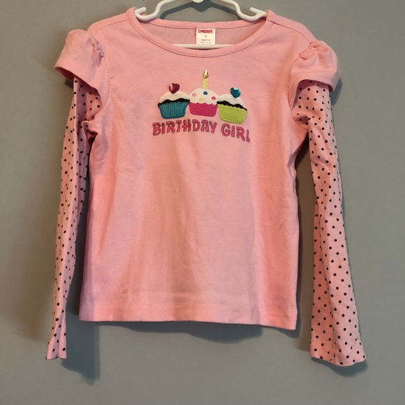 Gymboree Other - Gymboree Long Sleeve Birthday Girl shirt size 6